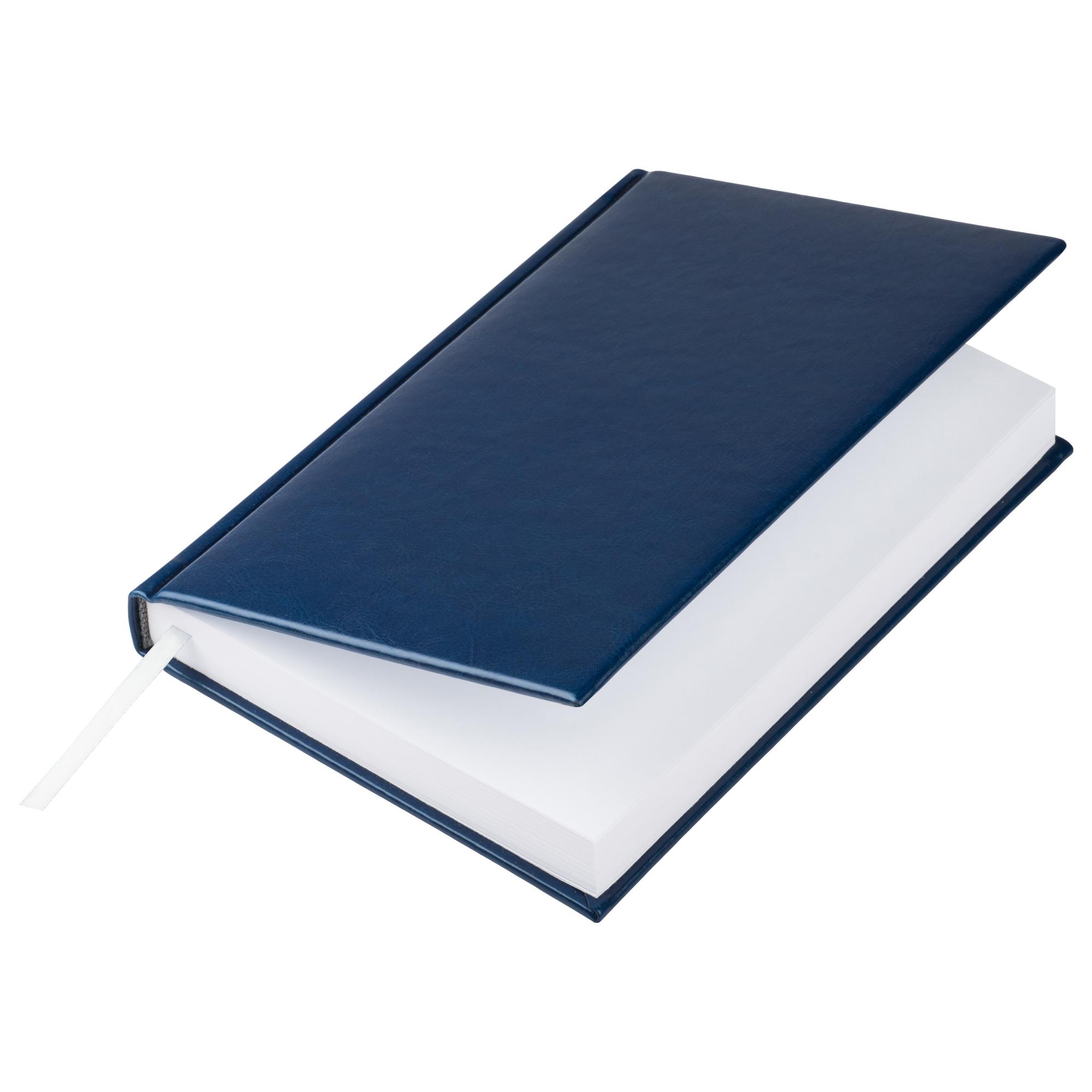 Eжедневник недатированный Birmingham 145х205 мм, блок без календаря, синий, без прошивки