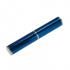 Коробка подарочная, футляр - тубус, алюминиевый, синий, глянцевый, для 1 ручки