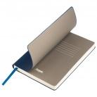 Ежедневник недатированный, Portobello Trend, Sky, 145х210, 256стр, синий, светлый форзац