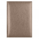Ежедневник недатированный Birmingham 145х205 мм, без календаря, с лого AvD, пепельный металлик