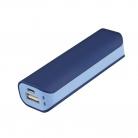 Внешний аккумулятор, Aster PB, 2000 mAh, синий/голубой, транзитная упаковка