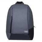 Рюкзак Migliores с защитой от карманников, серый/бирюза