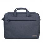 Сумка для ноутбука Migliores, 355х425х60 мм, серый/бирюза