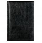 Ежедневник недатированный Birmingham 145х205 мм, без календаря, черный, без прошивки