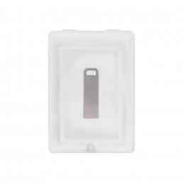 USB Флешка, Flash, 32 Gb, серебряный, в подарочной упаковке