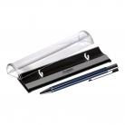 Шариковая ручка Regatta, синяя, в упаковке с логотипом