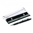 Шариковая ручка Comet NEO, черная. в упаковке с логотипом