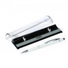 Шариковая ручка Comet NEO, белая, в упаковке с логотипом