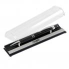 Шариковая ручка Crocus, черная, в упаковке