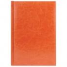 Eжедневник недатированный Birmingham 145х205 мм, без календаря, оранжевый, без прошивки