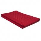Плед Fado вязаный, 160*90 см, красный в подарочной коробке